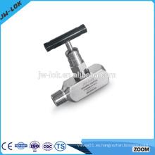 De alto rendimiento estándar ss316 aguja de la válvula