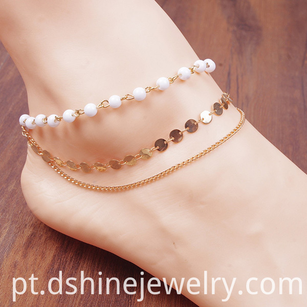 Fashion Bohemia Multilayer Anklet