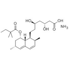 Ácido 1-naftaleno-heptanóico, 8- (2,2-dimetil-1-oxobutoxi) -1,2,6,7,8,8a- hexa-hidro-b, d-di-hidroxi-2,6-dimetil-amónio sal (1: 1), (57262911, bR, dR, 1S, 2S, 6R, 8S, 8aR) CAS 139893-43-9