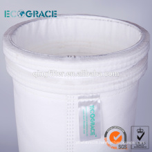 Cement/Powder Plant Filtration Fiberglass Filter Bag