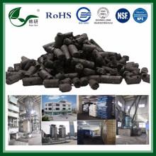 Carbone activé de granule de base de charbon pour l'usage environnemental