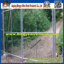 Gebrauchte Chain Link Zaun zum Verkauf (Fabrik)