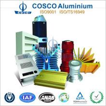 Anodizing CNC machining Industrial Aluminium profiles