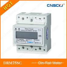 DIN Rail Electronic Meter for Overseas Market Anti Tamper with Modbus