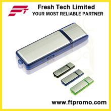 Clásico de promoción de plástico y de aluminio USB Flash Drive para personalizar (D103)
