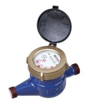 Vane Wheel Brass Water Meter with Vacuum Sealed Register