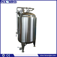 KUNBO Stainless Steel 250 Gallon Insulated Beer Storage Bright Tank