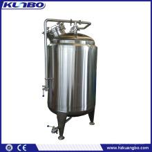 Tanque De Armazenamento De Refrigeração De Leite Vertical De Aço Inoxidável KUNBO 200-500L