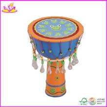 2014 heißer Verkauf Holz Kids Drum Set, neue Mode Kinder Drum Set, hohe Qualität Baby Holztrommel Set W07j007