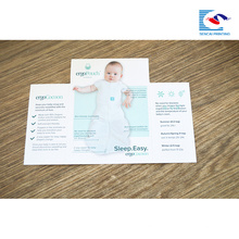dossier personnalisé de brochure d'impression pour la promotion de produits de bébé