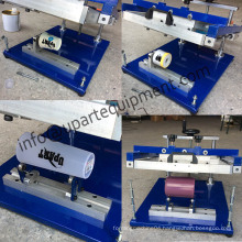 Manual Cylinder Screen Printing Machine for Bottles/Cups/Mugs