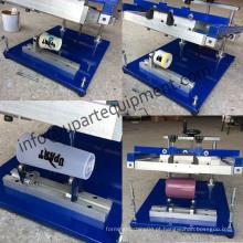 Impressora de tubo, uso de produtos redondos e máquina de impressão de tela de garrafa de cor e página de uma única cor