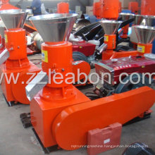 Homemade Diesel Engine Flat Die Wood Pellet Machine