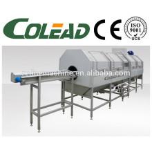 Stem precooking machine/leaf vegetable blanching machine/vegetable blanching machine/cooking machine