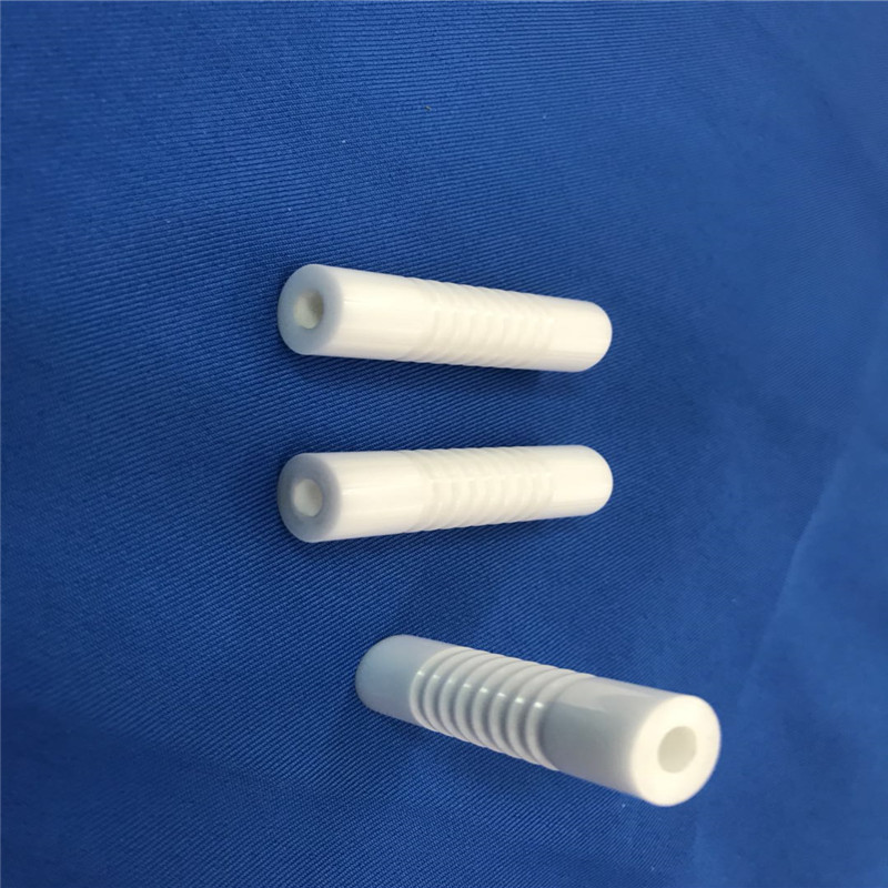 Ceramic Threaded Tube
