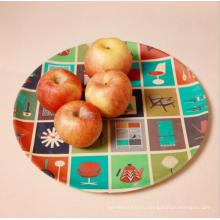 (BC-P1022) Bamboo Fiber Biodegradable Tableware Plate