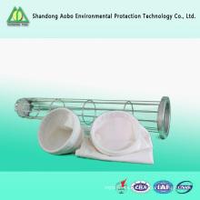 Fuente de la fábrica Residuos de residuos PTFE bolsa de filtro de polvo para el colector de polvo