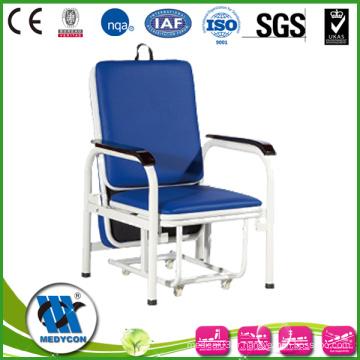 BDEC101-A Lit de chaise d'invité d'hôpital de luxe pour le préposé