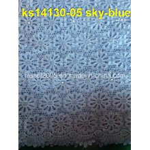 African Fashion Swiss Cotton Voile Dentelle Guipure Cord Lace 2014