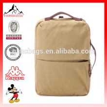 Special design double use canvas bag messenger backpack(ES-Z283)