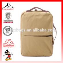 Special design double use canvas bag messenger backpack(ES-Z283)