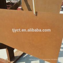 A588 Corten A Sheet Plaque en acier résistant à la corrosion atmosphérique