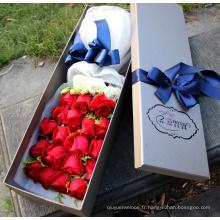 boîte de empaquetage de cadeau de haute qualité faite sur commande de fabrication professionnelle