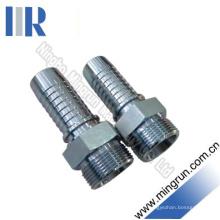 Raccord métrique pour raccord de tuyau hydraulique mâle H. T (10511)