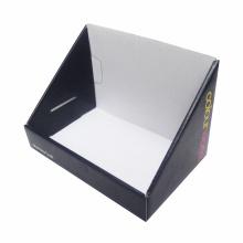 Boîte de papier d'affichage de papier de carton de conception adaptée aux besoins du client d'OEM