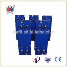 Chauffe-eau en acier inoxydable de Chine, refroidisseur d'huile hydraulique Alfa Laval M6M remplacement
