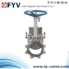 Cast Steel Knife Gate Valve
