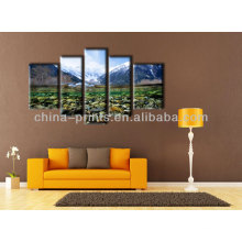 Multi-Panel Canvas Wall Art Print For Home Decor
