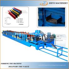 2 Jahre Garantie CUZ Pfettenroller / Web einstellbare CUZ Strahl Maschine / Multi-Size CUZ Pfette Walze Formmaschine
