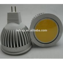 5w gu10 COB led dimmable lâmpada 100V-240V GU10 COB LED Spotlight levou lâmpadas quente branco CE