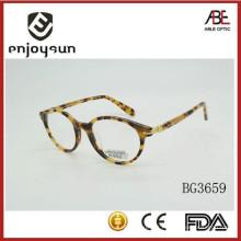 Moda colorida acetato óculos ópticos óculos eyewear atacado
