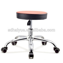 Nuevo estilo Taburete de la rueda de la escuela taburete de la escuela para uso de laboratorio sin reposabrazos