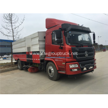 Shanqi New 4x2 broom sweeper truck