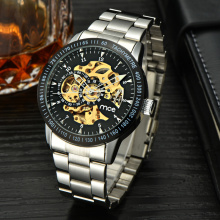 Custom Skeleton Automatic Men Watch