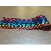 Multi Color Dyed Yarn Polyester Webbing