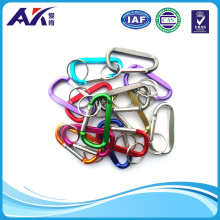 Aluminum Carabiner with Key Chain
