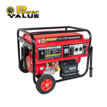 6kw 15hp Gasoline Generator Air Cooled Manual