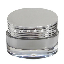 Luxurious Shutter Shape Acrylic Cosmetic Jar PMMA Jar