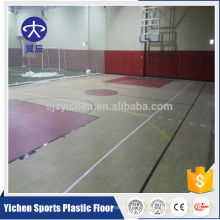 100% pure pvc wear layer anti-slip basketball flooring