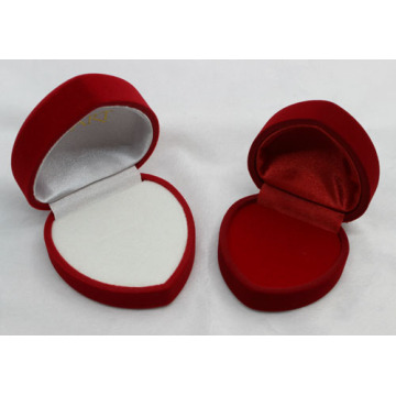 Handwork Velvet Wedding Ring Embalagem Paper box