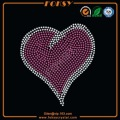 Lovely Pink Heart wholesale bling transfers