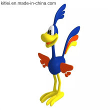 Customized Cartoon Donald Duck Model Plastic Figure Toys