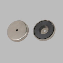 Nickel Coating Ceramic Pot Magnet