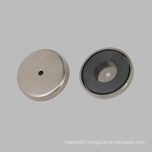 Plating Nickel Ceramic Round Base Magnet
