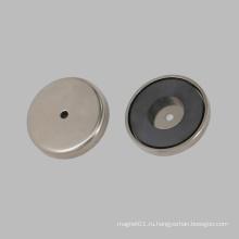 Покрытие никеля Керамический круглый основной магнит
