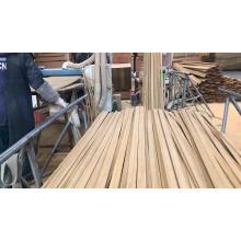 Moulure en bois reconstituée de moulure en bois semi-ronde avec bordure en corde Recon